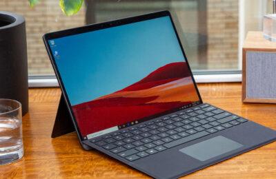 Présentation de la tablette Surface Pro X de Microsoft